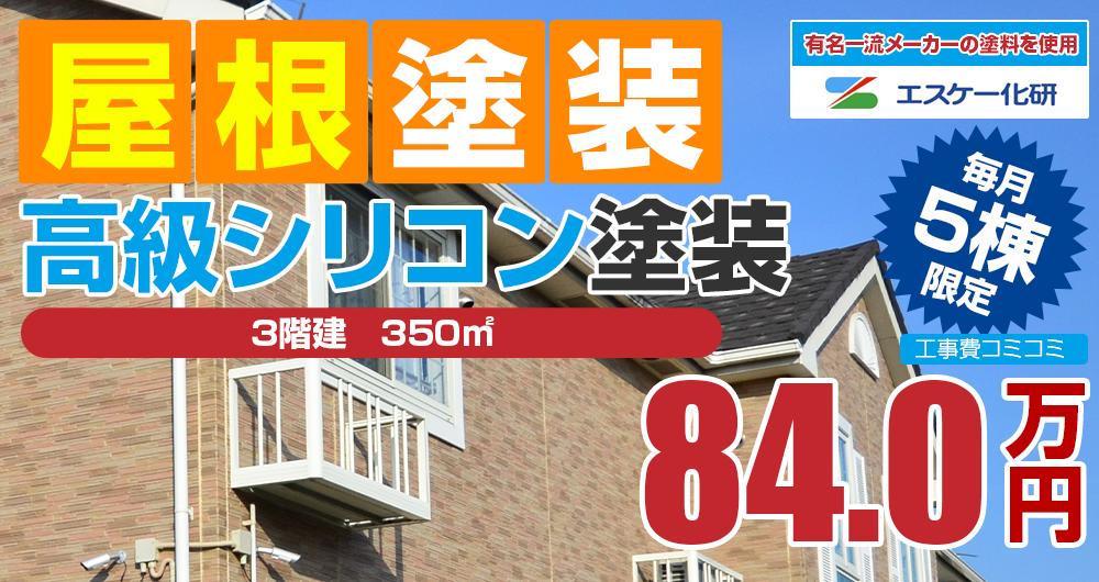 シリコンプラン塗装 840000万円