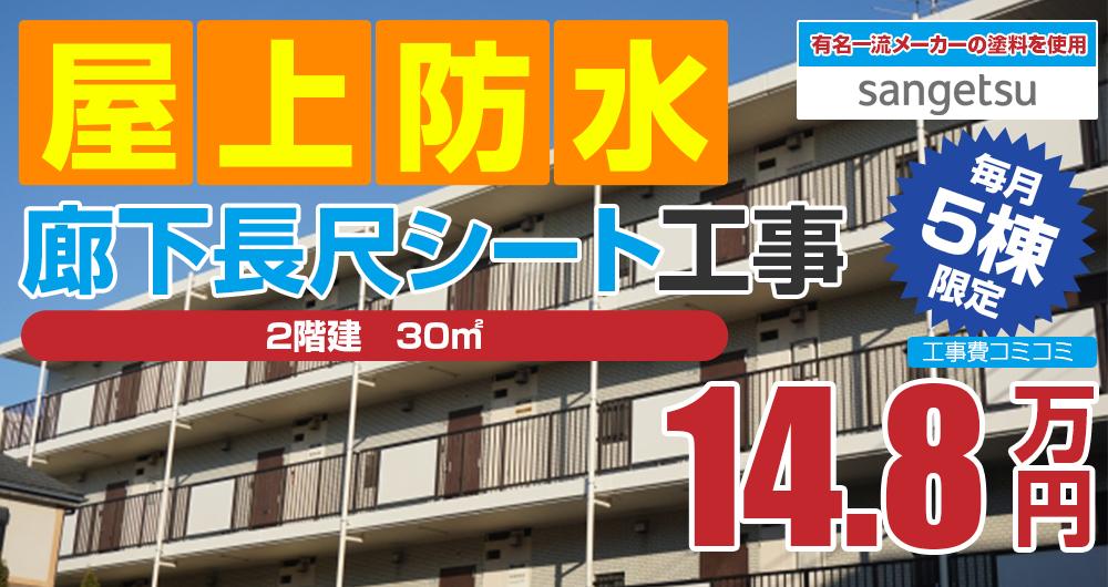 ラジカルプラン塗装 148000万円