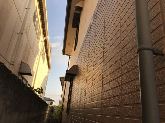 アパート外壁塗装前の様子