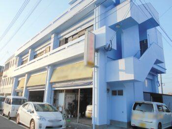 鹿児島県鹿児島市城南町での外壁補修工事と塗装、防水工事が完成