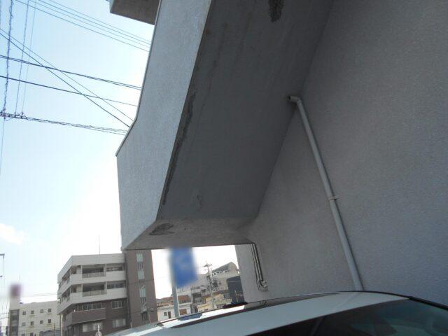 大規模修繕階段部分の劣化
