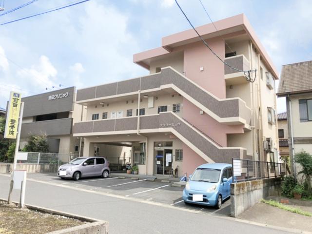 鹿児島県鹿児島市吉野にて3階建てマンションの外壁塗装が完成