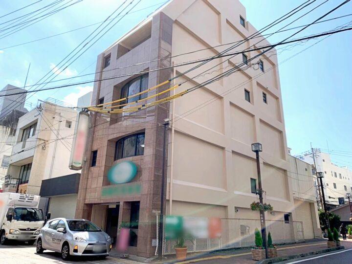 宮崎県宮崎市にて1階がテナントのマンションの外壁塗装