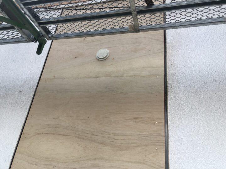 外壁補修部分
