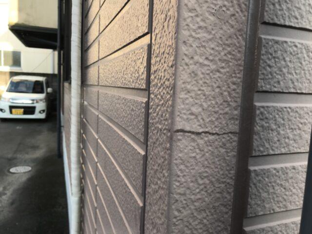 外壁リフォーム前の塗膜