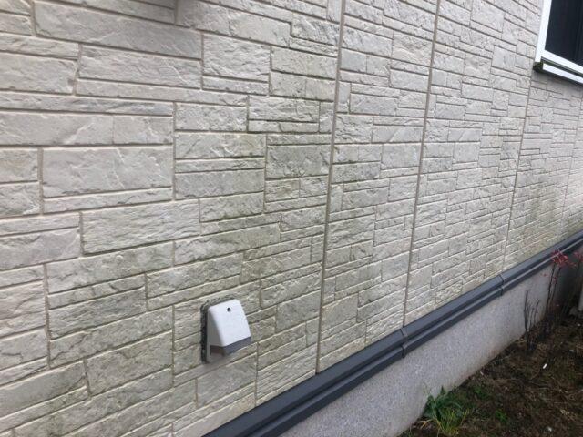 アパート外壁の汚れ