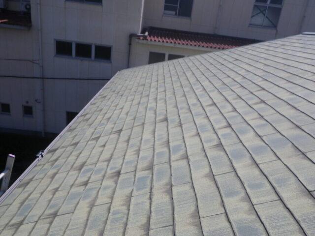コロニアル屋根劣化の様子
