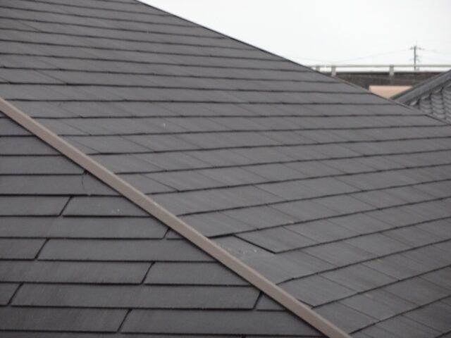 アパートスレート屋根の劣化