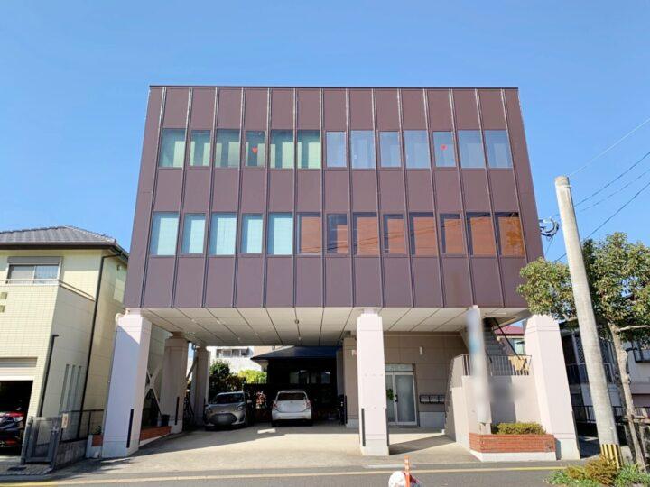 宮崎県宮崎市恒久のビルの外壁一面の遮熱塗装が完成