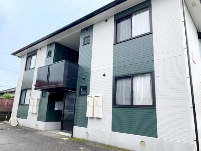 宮崎県宮崎市清武でアパート2棟デザイン塗装を行った感想