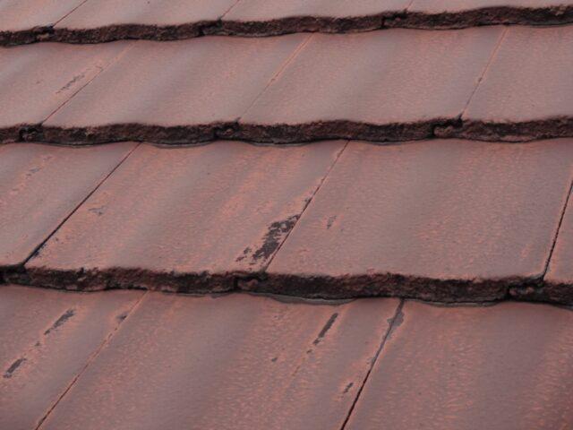 屋根不具合の様子